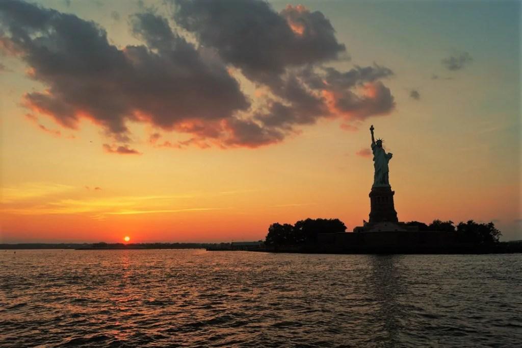 Die Freiheitsstatue, eines unserer New York Highlights