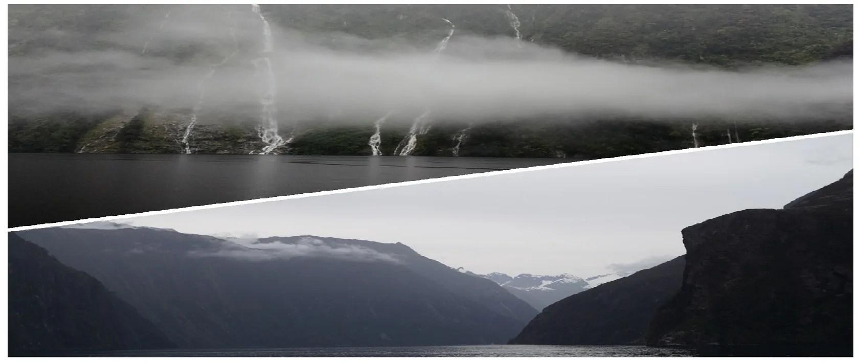Unterschied zwischen Milford Sound – Doubtful Sound
