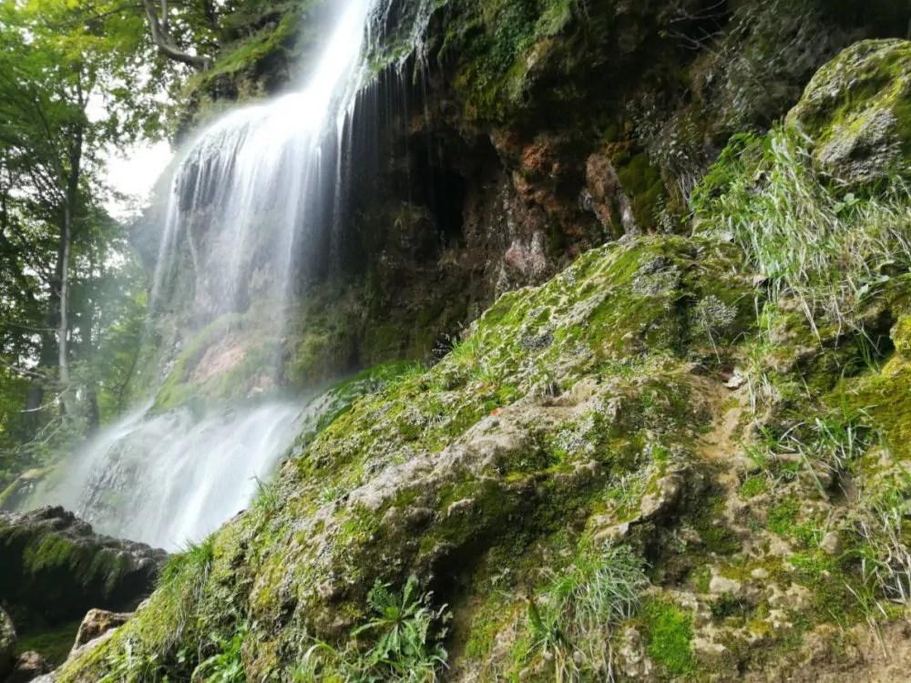 Wanderung am Uracher Wasserfall