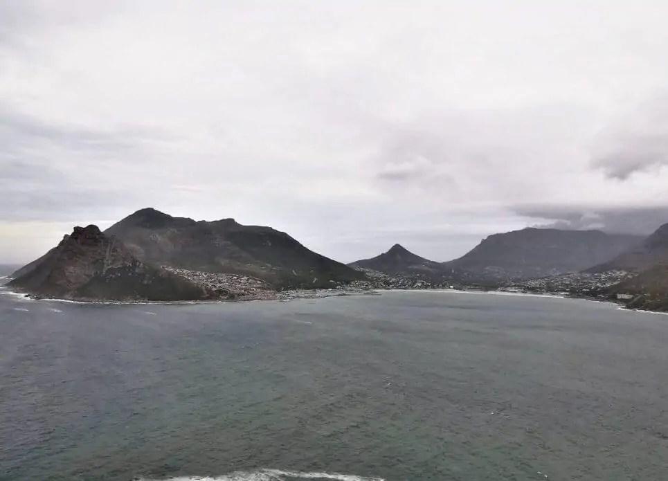 Chapmans Peak Drive auf dem Rückweg vom Kap der guten Hoffnung in Südafrika