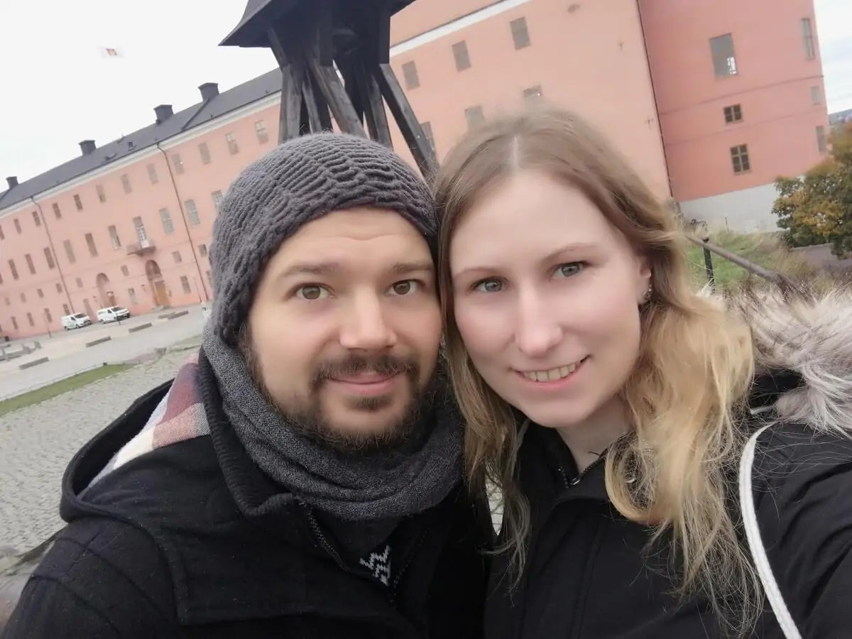Unterwegs in Uppsala