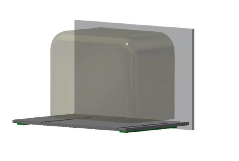 Unsere Camper Küche - Kühlschrankschublade 1