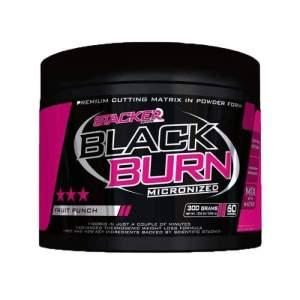 Stacker - Black Burn Micronized