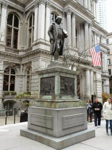 Benjamin Frankin Statue
