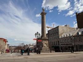 Statue von Nelson