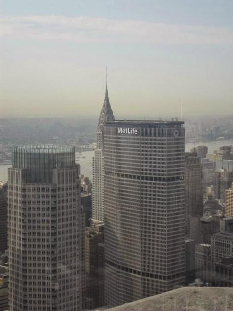 Das Chrysler Building versteckt sich