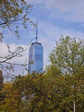 One WTC vom Battery Park aus