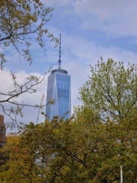 One WTC vom Battery Park aus