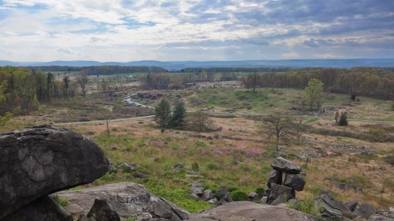 Blick vom Little Round Top