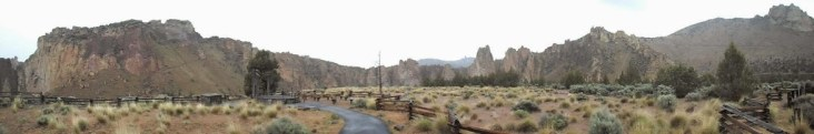 Smith Rock Panorama Blick
