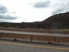 Das einzige Bild der Lava-Felder