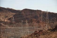 Energieverteilung des Hoover Damm Kraftwerks