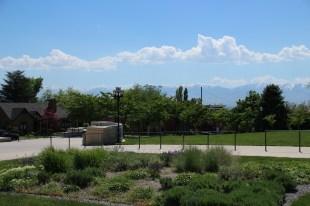 Blick auf die Berge um Salt Lake City