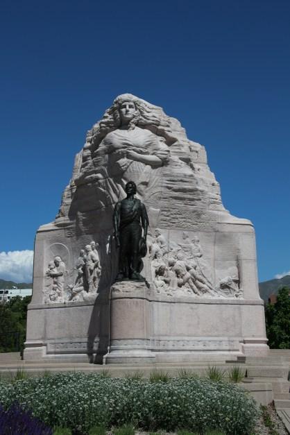 Kriegerdenkmal für die Mormonen