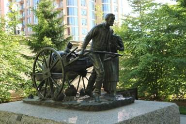 Denkmal für den Treck der Mormonen nach Salt Lake City