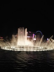 Wassershow am Bellagio