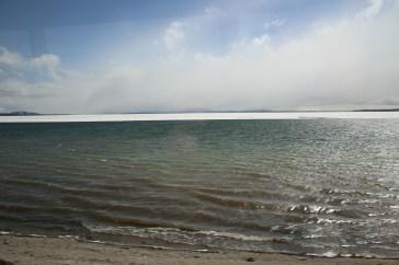 Yellowstone Lake teilweise frei