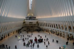Oculus, die neue Bahn Station am World Trade Center