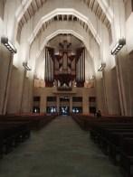 Im Kirchensaal des St. Joseph Oratorium