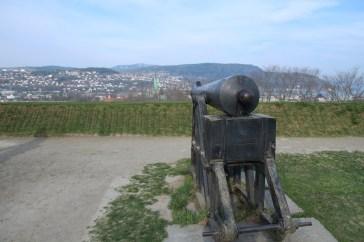 Kanone auf der Festung