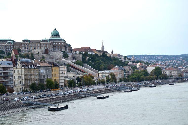 Castle Hill view from Chain Bridge
