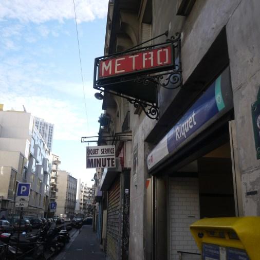 Metro near hotel