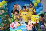 Festa Aniversário Criança - 6 Anos - Bob Esponja - Parabéns