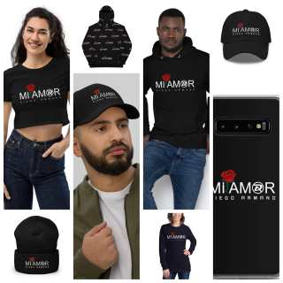 Mi Amore Collections  Checkout our mi amor collection and order yours today!!  #diegoarmandinc #diego #diegoarmand #lifestyle #tshirt #hoodies #cap #phonecases #miamor