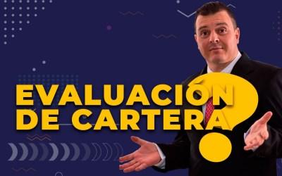 EVALUACIÓN DE CARTERA 2020