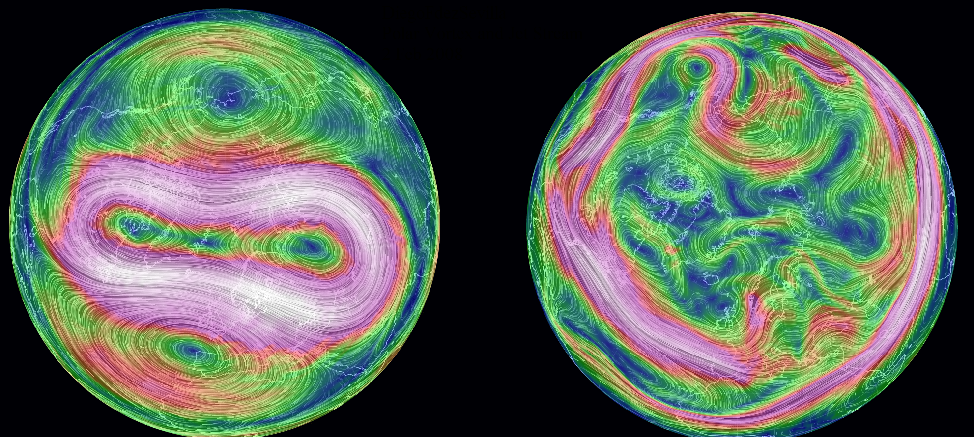 Why There Is No Need For The Polar Vortex To Break In Order To Have A Wobbling Jet Stream And