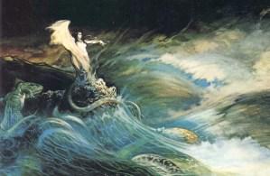 frank frazetta sea witch