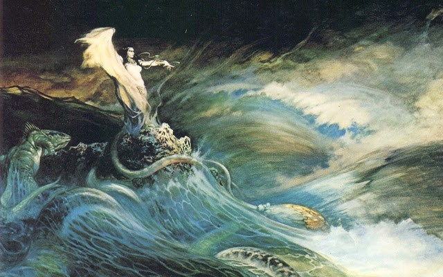 frank frazetta sea witch