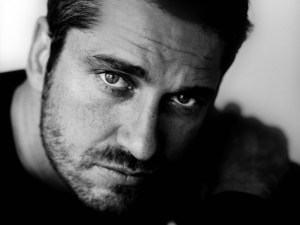 actor gerard butler gerard butler portrait face eyes eyes hair photography black and white