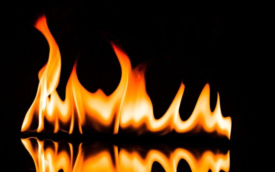 Flame Fire Burn Hot Shining Heat