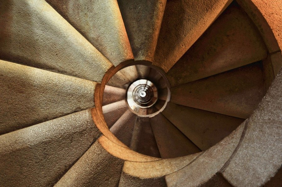 Staircase Spiral Architecture