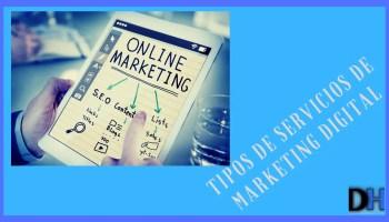 Tipos de Servicios de Marketing Digital