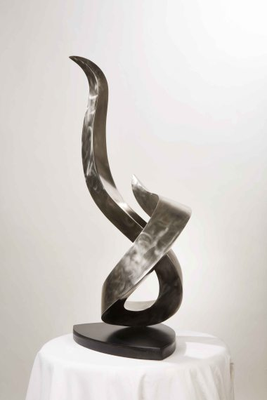 """The Flame"" Fabricated Stainless Steel"