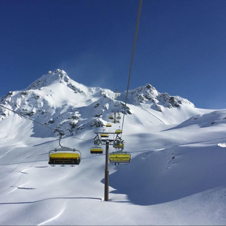Die Panoramabahn in Obertauern
