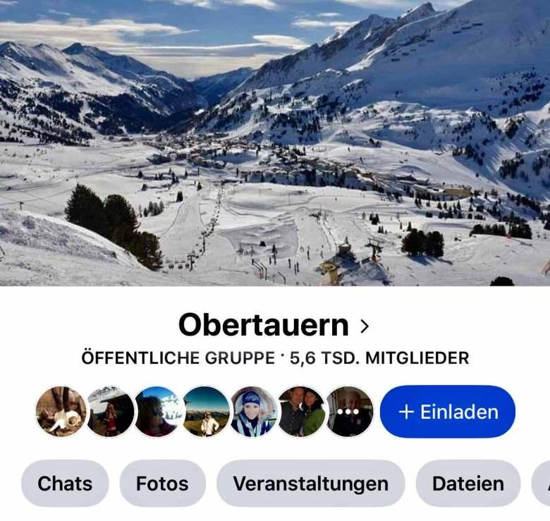 Die Obertauern-Facebook-Gruppe hat eine äußerst aktive Community und ist bei Obertauern-Gästen sehr beliebt.