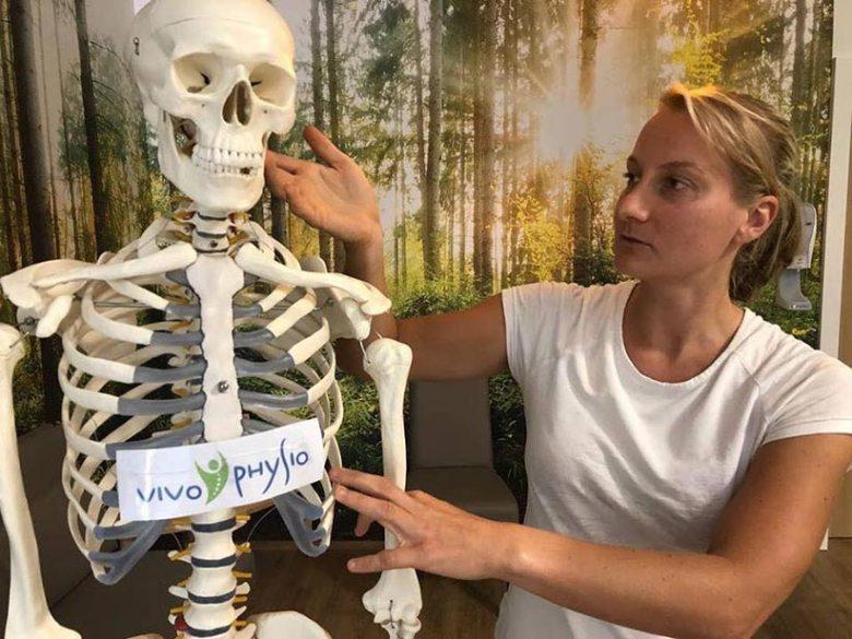 Spezialistin für den Stütz- und Bewegungsapparat: Physiotherapeutin Verena Wagner von VIVO Physio.