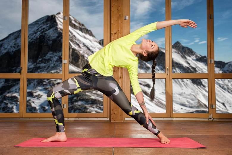 Yoga Retreats in Obertauern: Yogalehrerin Nini Orda-Dejtze