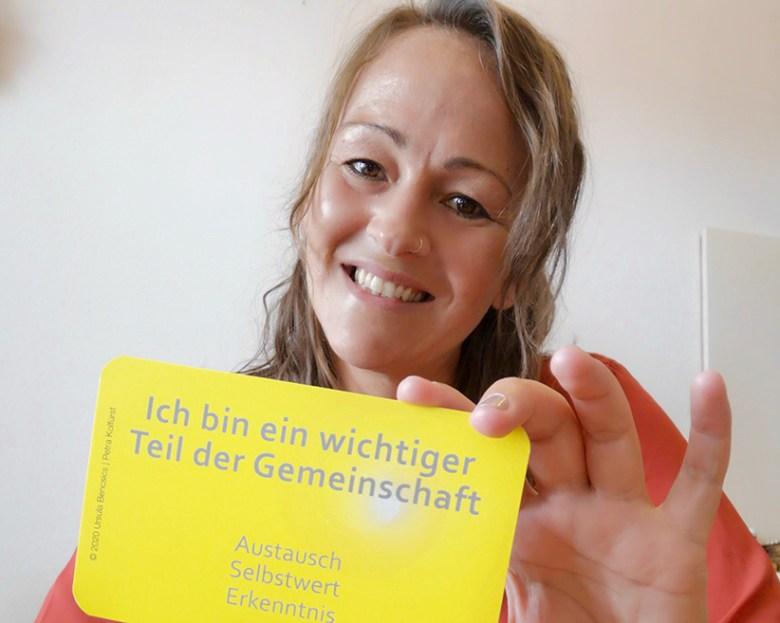 Schätzt Impulskarten als Werkzeug für den Weg zu einer positiven Lebenseinstellung: Katharina Buttenhauser. Foto: VIVO Physio