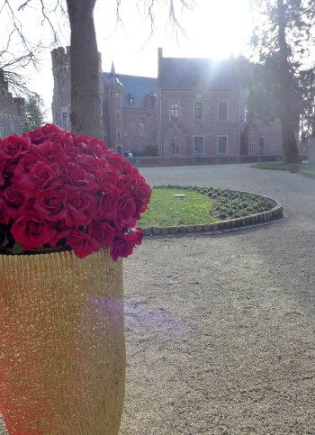 Foto im Schlosshof