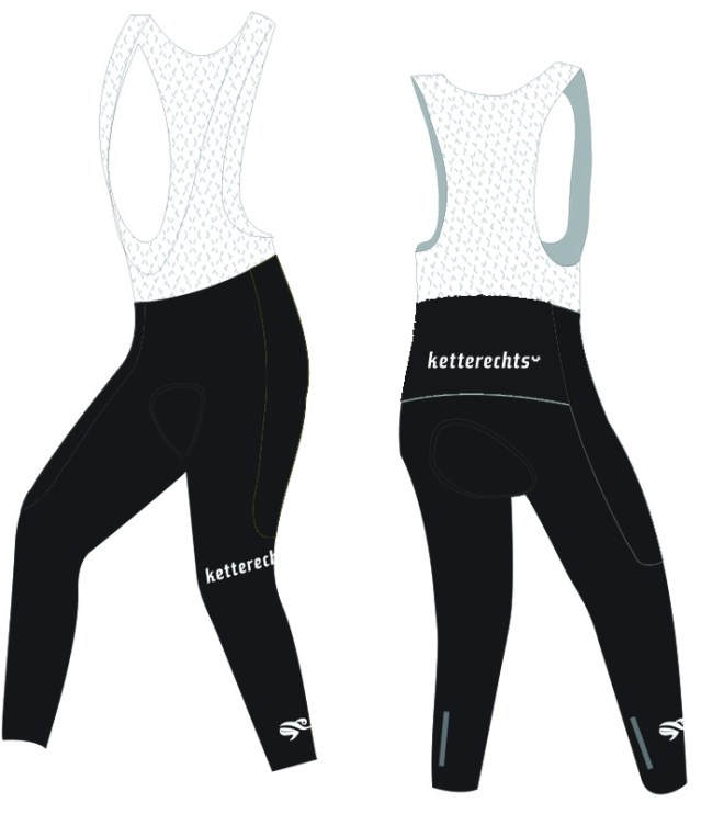 Winter Rennradhose Thermo lang