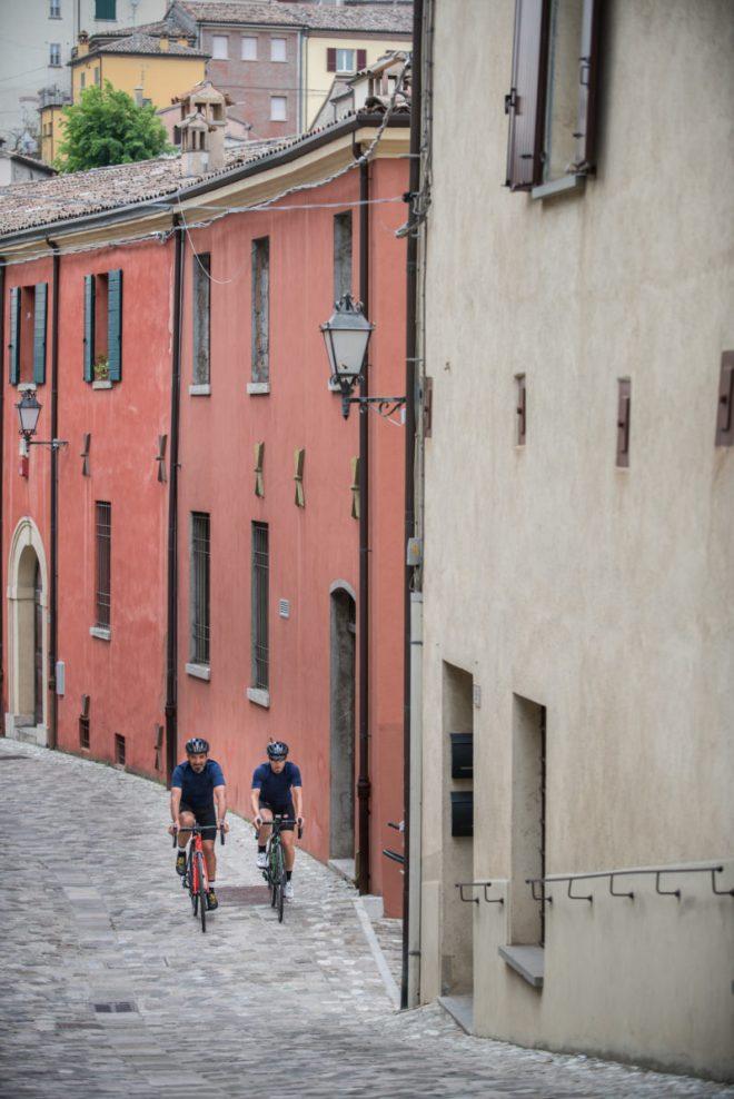 Rennradfahren an der Adria