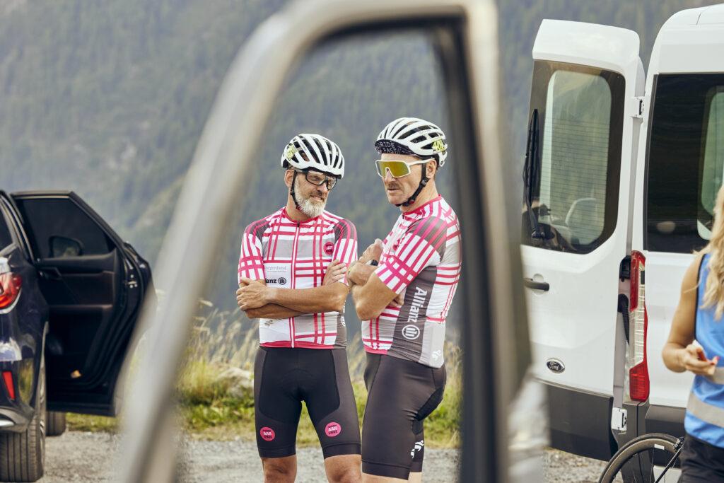 Race Around Austria Teambesprechung