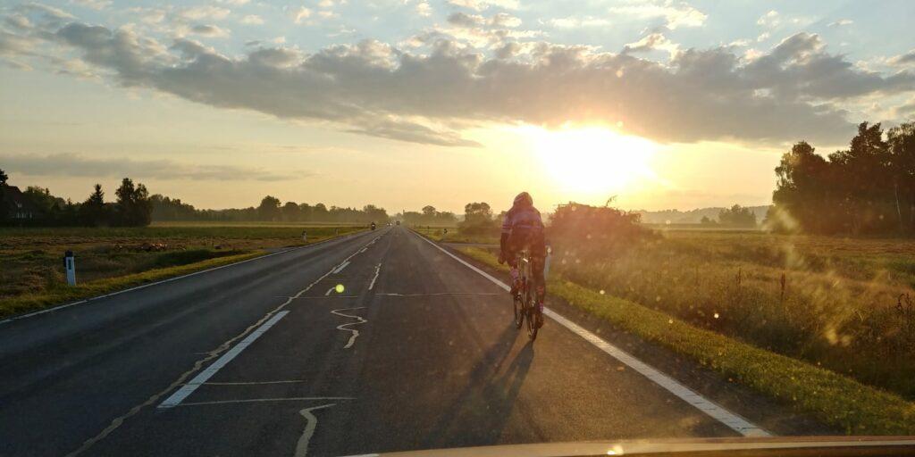 Sonnenaufgang beim Race Around Austria