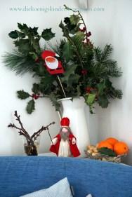 Sankt Nikolaus zu Besuch bei den Königskindern