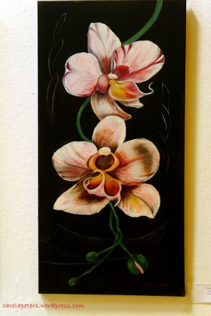 Margot Braun - Orchideen in Öl (c) Carola Peters