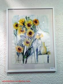 Hilde Ernst - Sonnenblumen